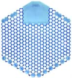 Fresh Products The Wave™ 7 x 6-1/2 x 2/3 in. EVA Cotton Blossom Urinal Screen Deodorizer in Blue (10 Pack) F3WDSF010I060M06