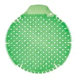 Fresh Products Tidal Wave 8 x 7-1/4 x 1 in. EVA Cucumber Melon Urinal Screen in Green (6 Pack) FTWDSF006I036M02