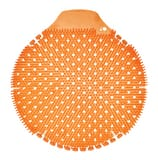 Fresh Products Tidal Wave 8 x 7-1/4 x 1 in. EVA Mango Urinal Screen in Orange (6 Pack) FTWDSF006I036M04