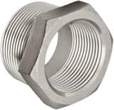 1 x 1/2 in. Threaded 150# 304L Stainless Steel Bushing IS4CTBGD