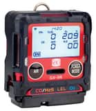 RKI Instruments Gas Detector with Battery Charger in Red R72RAE at Pollardwater