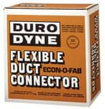 Duro Dyne National 28 ga Flexible Duct Connector in Black D10171