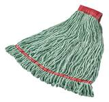 Abco Polyester, Rayon and Synthetic Disinfectant Loop-end Mop in Green ALM204LDWGFE