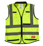 Milwaukee L/XL Size Polyester High Visibility Safety Vest in Hi-Viz Yellow M48735042