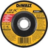 Dewalt 4-1/2 in. Metal Fast Depressed Center Wheel DDW4518