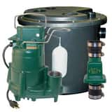Little Giant Pump 1-1/2 in. 115V 1/2 hp Drain Pump Package Z1310001 at Pollardwater
