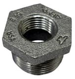 FNPT x MNPT Class 150 Reducing Black Cast Iron Hex Bushing BCIB