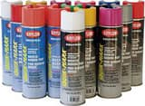 Krylon Quik-Mark™ 20 oz. Inverted Water-Based APWA Marking Spray Paint in Fluorescent Green KS03630